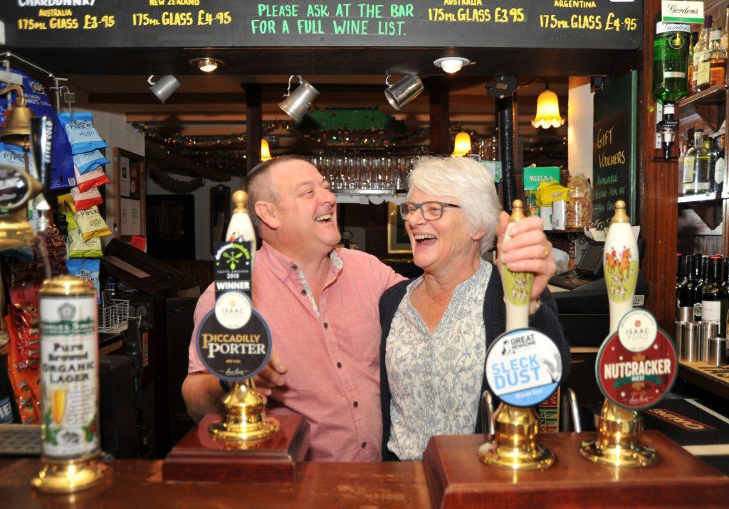 Phil & Sue, Owners of The White Bear Inn, York